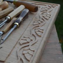 Carving in Oak, New York