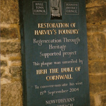 Harveys Foundry, Cornwall
